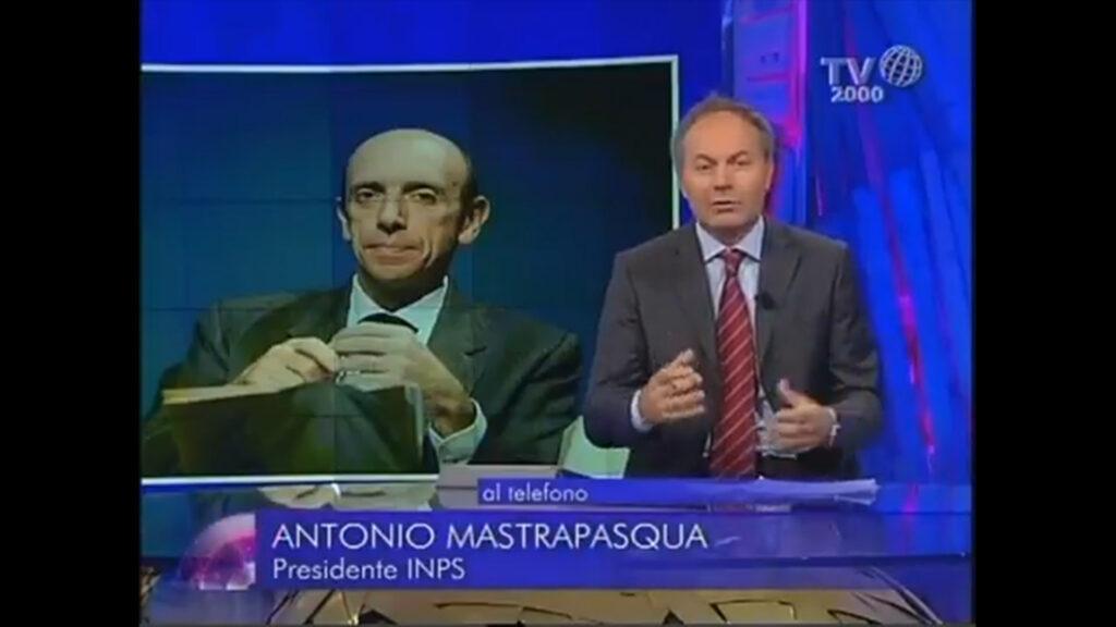 Antonio Mastrapasqua | Perché 200mila pensionati devono restituire la 14esima del 2009
