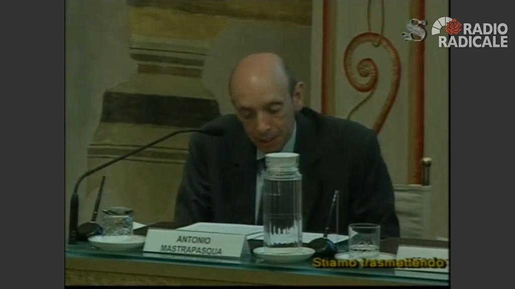 Antonio Mastrapasqua | Giornata nazionale di studio sulla salute e sulla sicurezza sul lavoro