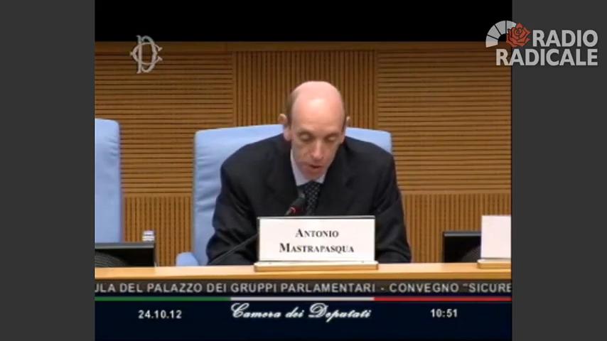 Antonio Mastrapasqua | Sicurezza sul lavoro nella Pubblica Amministrazione