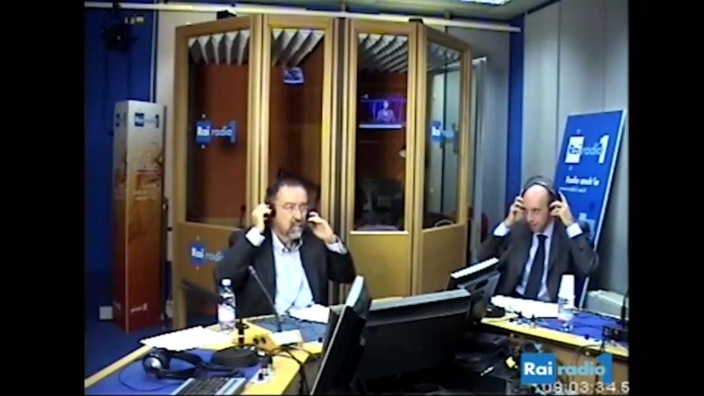 Antonio Mastrapasqua a Radio anch'io – 2 ottobre 2012