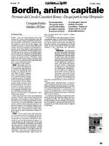 2006 - Rassegna Stampa Antonio Mastrapasqua