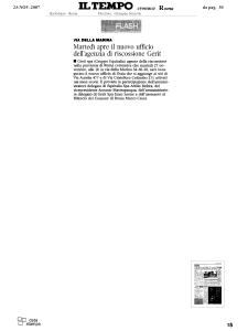 2007 - Rassegna Stampa Antonio Mastrapasqua