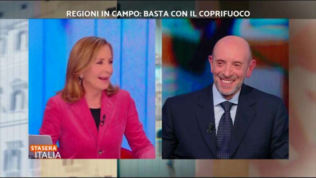 """Antonio Mastrapasqua a """"Stasera Italia"""" su Rete 4"""