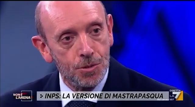 """Ho paura per il mio Paese – Antonio Mastrapasqua a """"Non è l'Arena"""""""