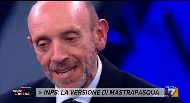 """Le false accuse – Antonio Mastrapasqua a """"Non è l'Arena"""""""