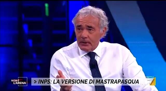 """Massimo Giletti: """"Mi scuso"""" – Antonio Mastrapasqua a """"Non è l'Arena"""""""