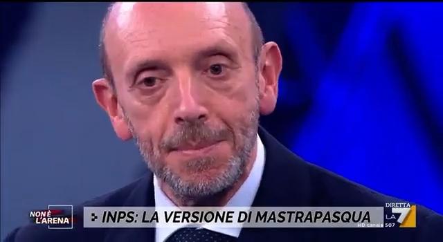 """Una PA sotto schiaffo – Antonio Mastrapasqua a """"Non è l'Arena"""""""