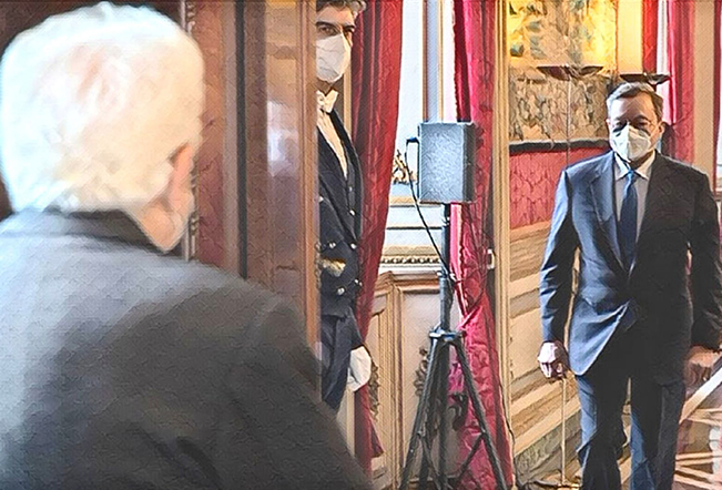 Riforma della Costituzione appello a Draghi e Mattarella